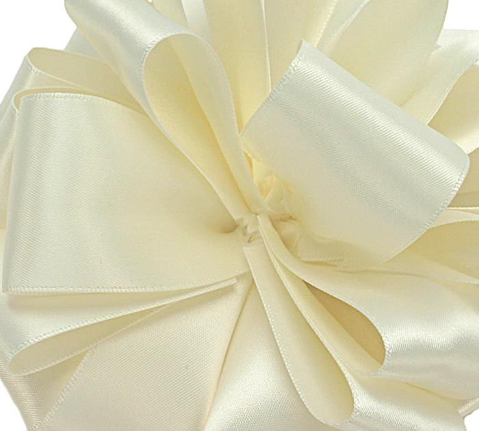 #9 ANTIQUE WHITE DOUBLE FACE SATIN