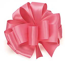 #9 HOT PINK DOUBLE FACE SATIN RIBBON