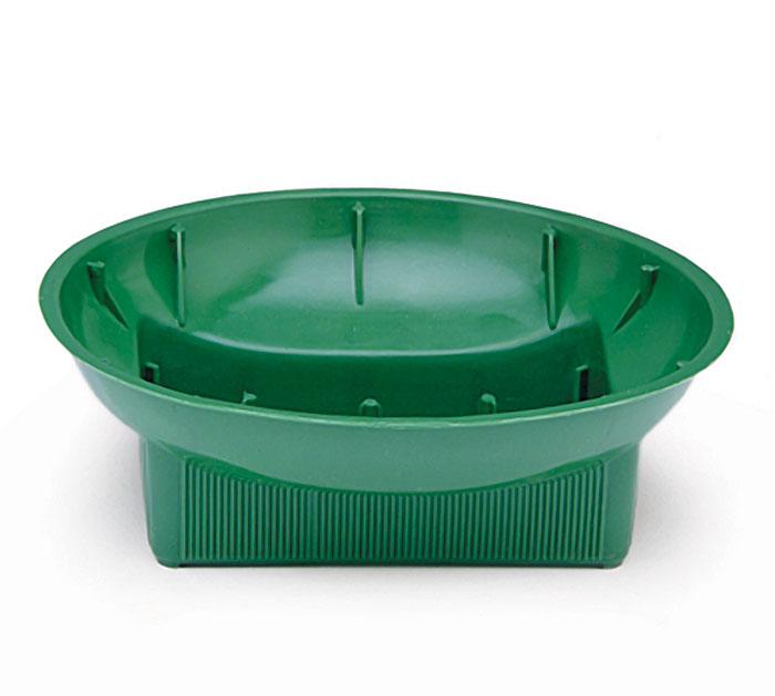 FLORAL-PLASTIC DISH