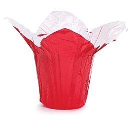 "KWIK-COVER 6"" PEARL RED WHITE"