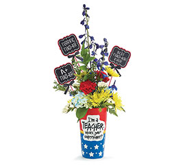 KIT SUPERPOWER TEACHER VASE WITH PICKS