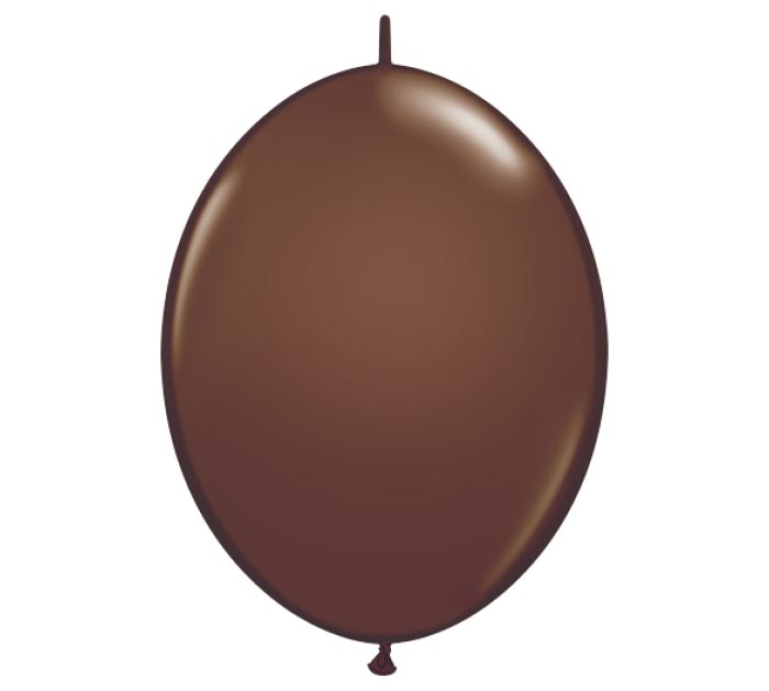 """6"""" CHOCOLATE BROWN QUICK LINK"""