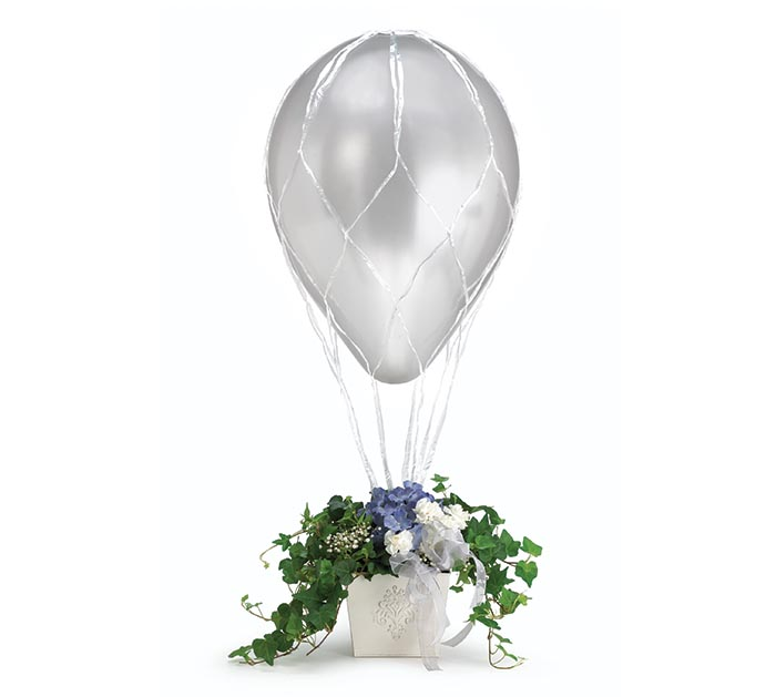 "16"" BALLOON NET WHITE"