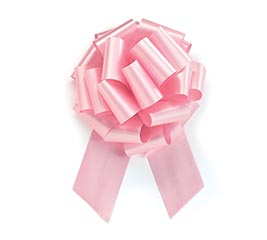 PINK PULL BOW #40