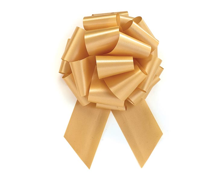 GOLD PULL BOW #40