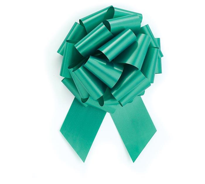 EMERLD GREEN PULL BOW #40