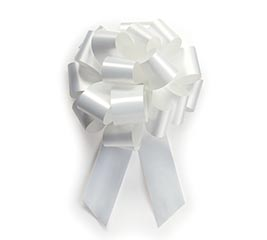 WHITE PULL BOW #5