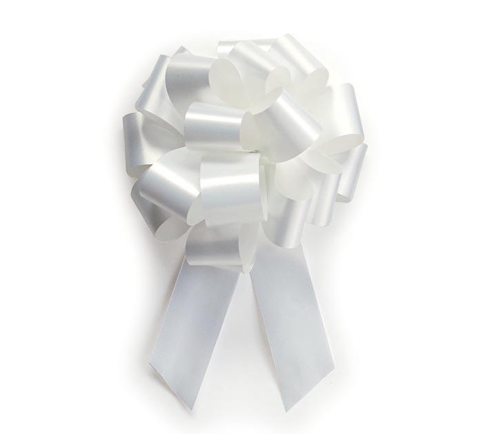 WHITE PULL BOW #5