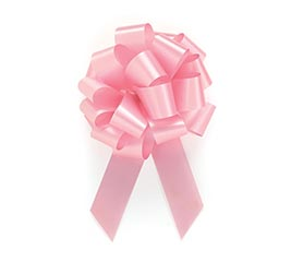 PINK PULL BOW #5