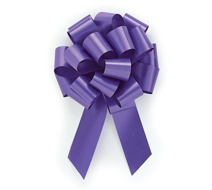 #5 PURPLE PULL BOW