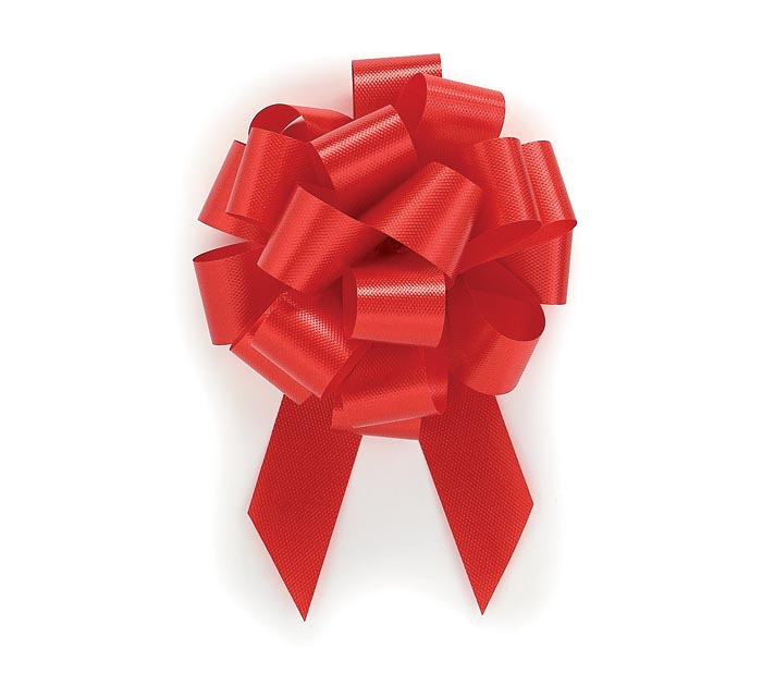 RED PULL BOW #5