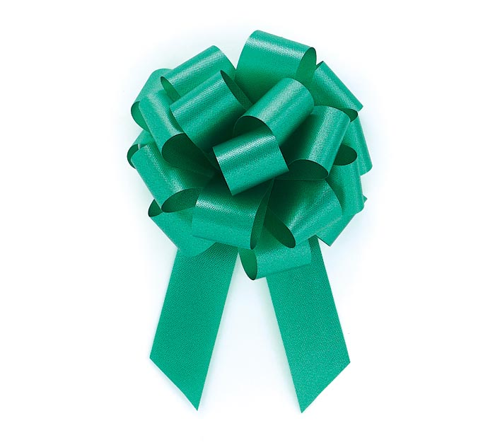 EMERALD GREEN PULL BOW #5