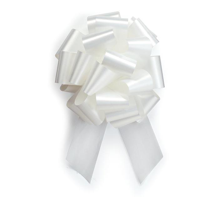 WHITE PULL BOW #9