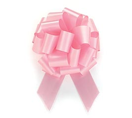 PINK PULL BOW #9
