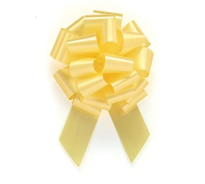 YELLOW PULL BOW #9