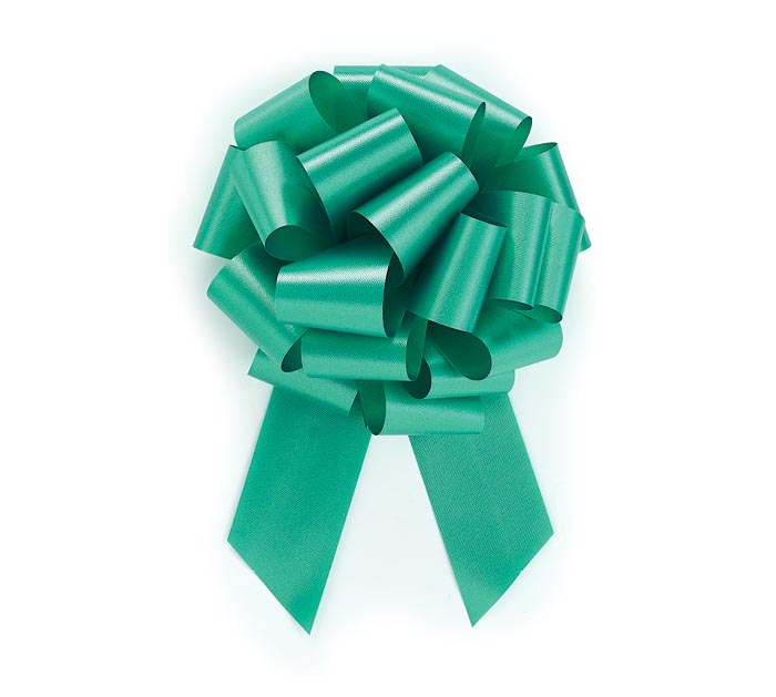 EMERALD GREEN PULL BOW #9