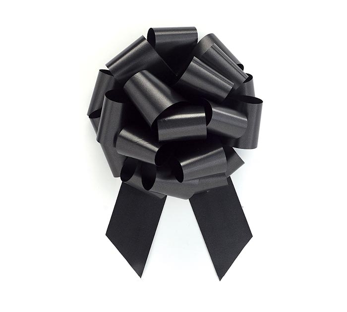 BLACK PULL BOW #9