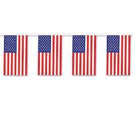BANNER AMERICAN FLAG PENNANTS