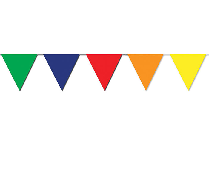 MULTICOLORED PENNANT