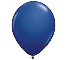 "5"" QUALATEX NAVY LATEX BALLOON"