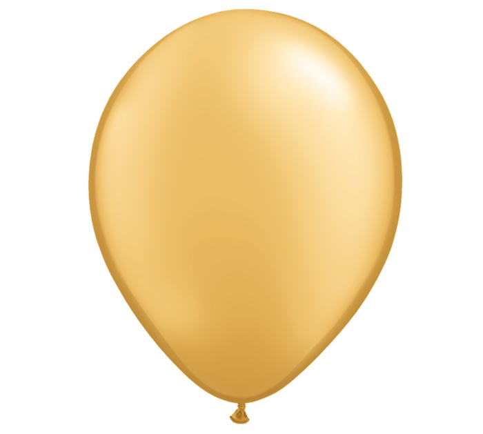 "5""QUAL METALLIC GOLD"