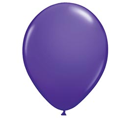 "5"" QUALATEX PURPLE VIOLET LATEX"