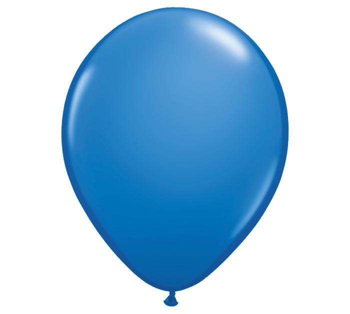 """9"""" QUALATEX DARK BLUE LATEX"""