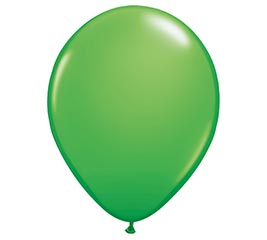 "11"" QUALATEX SPRING GREEN LATEX"