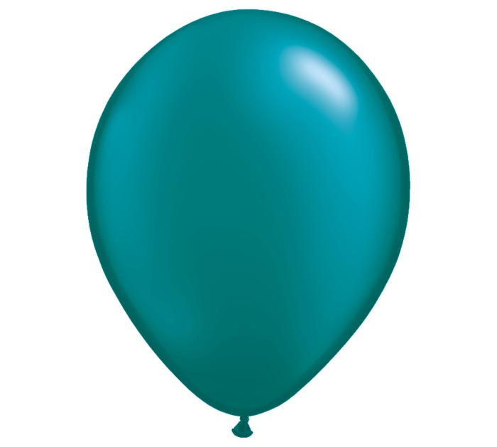 "11"" QUALATEX PEARL TEAL LATEX"