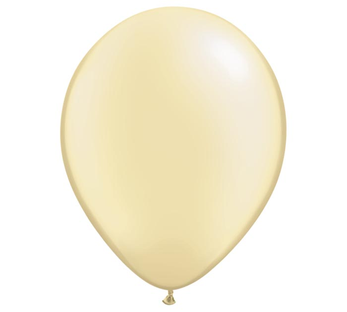 "11"" QUALATEX PEARL IVORY"