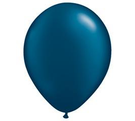 """11"""" QUALATEX PEARL MIDNIGHT BLUE LATEX"""