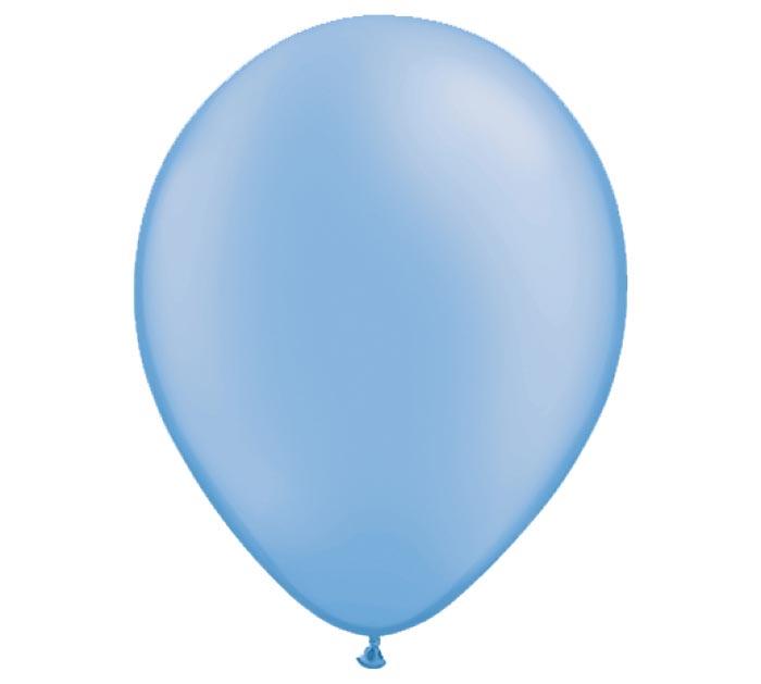 "11"" QUALATEX NEON BLUE LATEX"