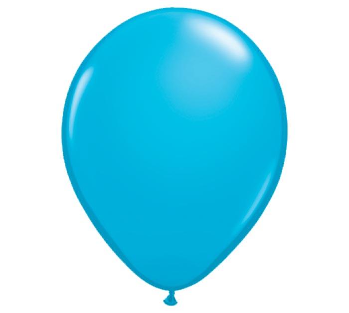 "11"" QUALATEX ROBINS EGG BLUE LATEX"