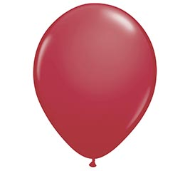 "16"" QUALATEX MAROON LATEX BALLOON"