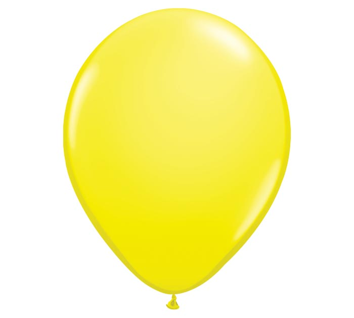 "16"" QUALATEX YELLOW LATEX"