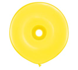 "16""GEO DONUT YELLOW"