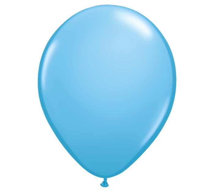 "16"" QUALATEX STANDARD PALE BLUE LATEX"