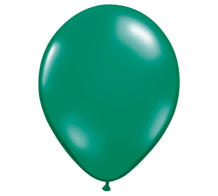 "16"" QUALATEX EMERALD GREEN LATEX"