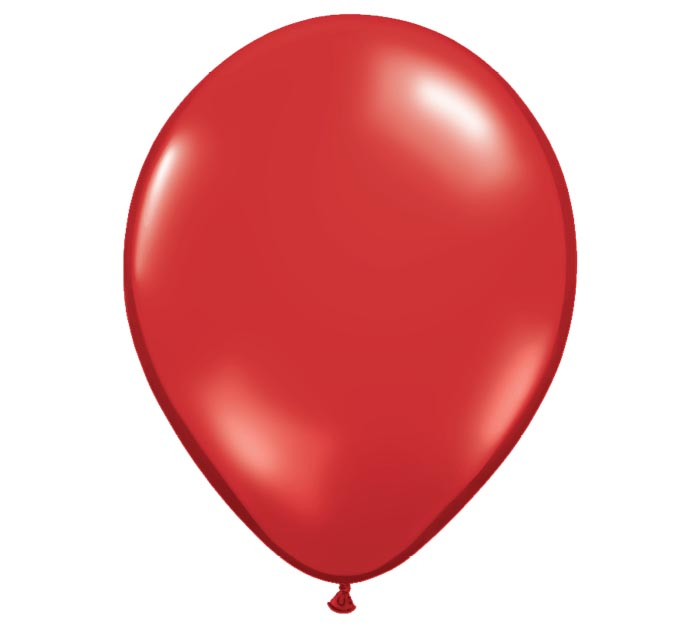 "16"" QUALATEX RUBY RED LATEX"