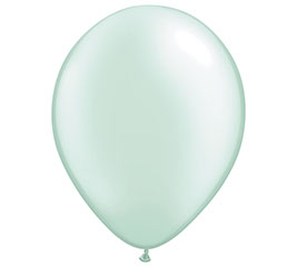 "16"" QUALATEX PEARL MINT GREEN LATEX"