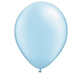 "16"" QUALATEX PEARL LIGHT BLUE LATEX"