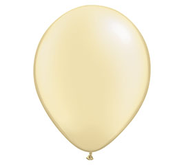 "16"" QUALATEX PEARL IVORY LATEX"