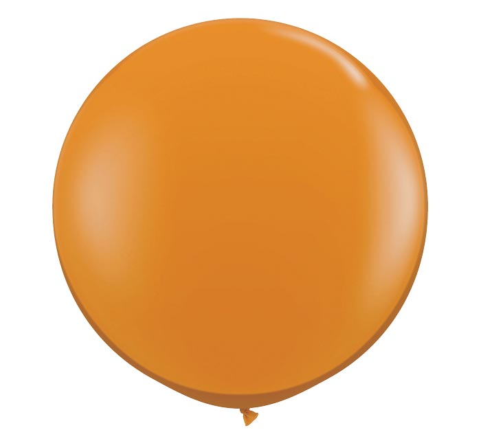 3' QUALATEX MANDARIN ORANGE LATEX