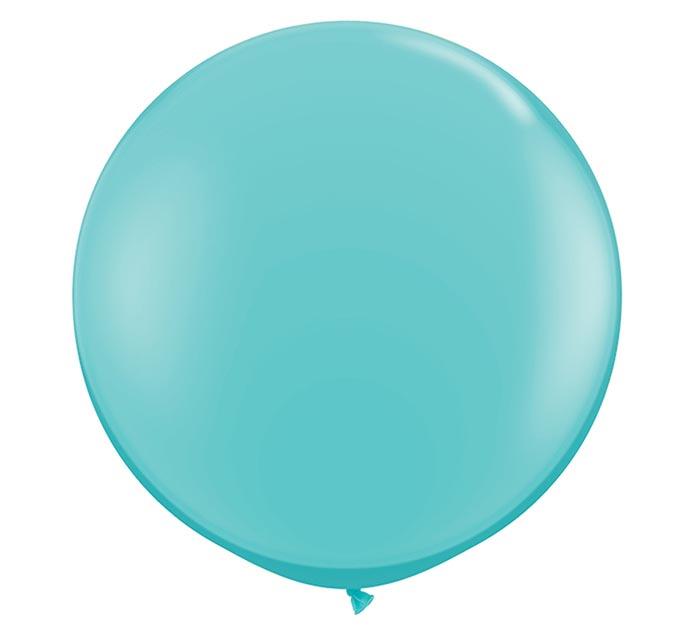 3' QUALATEX CARIBBEAN BLUE LATEX