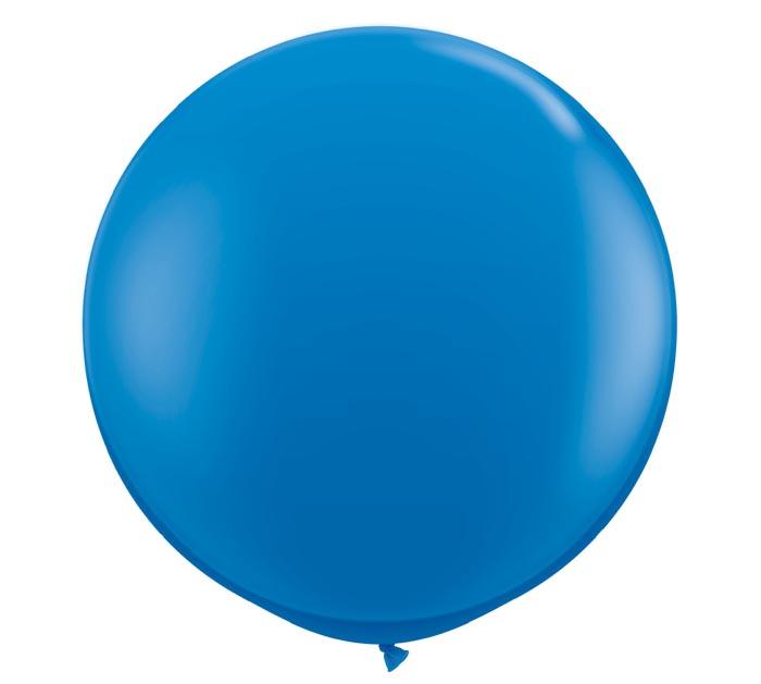 3' QUALATEX DARK BLUE LATEX