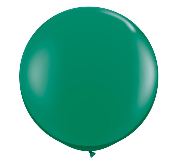 3' QUALATEX EMERALD GREEN LATEX