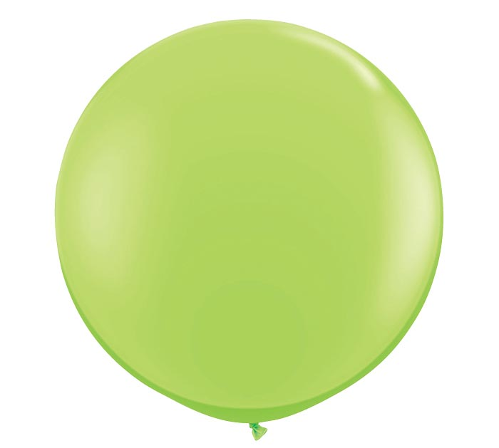 3' QUALATEX LIME GREEN LATEX