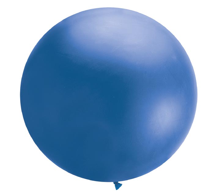 4' QUALATEX DARK BLUE CLOUDBUSTER LATEX