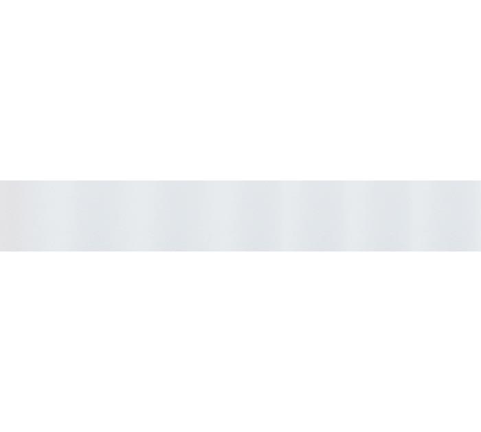 #3 WHITE SATIN ACETATE RIBBON