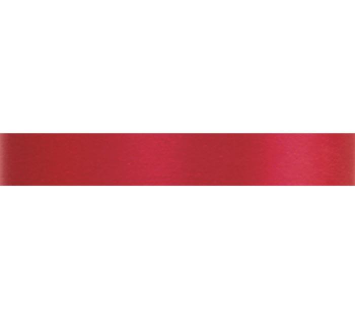 #3 MADAME RED SATIN ACETATE RIBBON